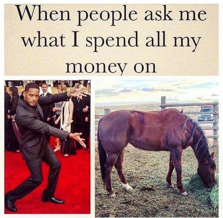 Quand on me demande comment j'ai dépensé tout mon argent